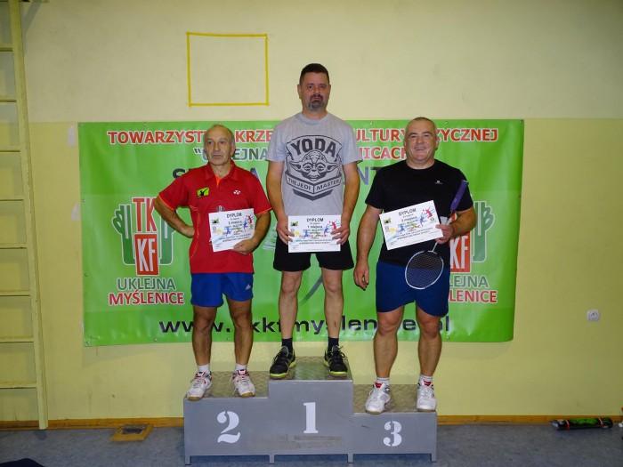 Badminton: Tomasz i Bogdan Matoga z TKKF Uklejna najlepsi